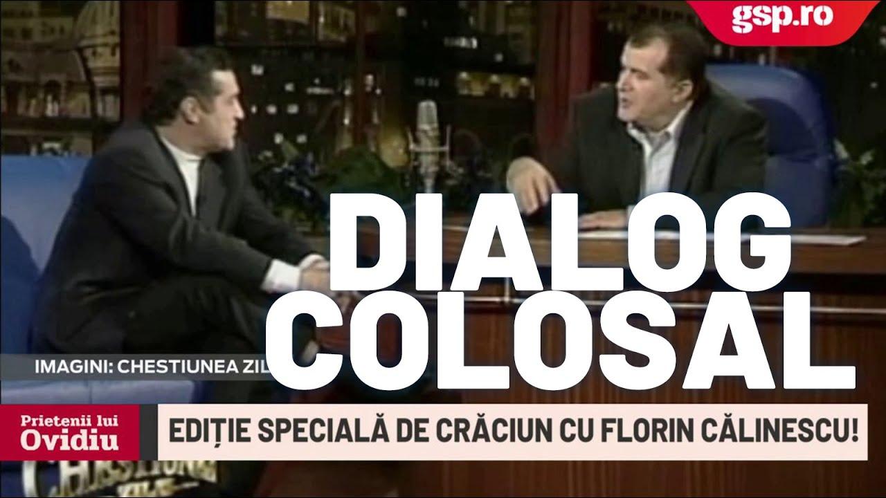 Florin Călinescu și Gigi Becali la Chestiunea Zilei: filmare de senzație