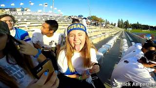 clovis high Whiteout game student section  2016