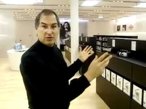 Steve Jobs explains the Apple Store