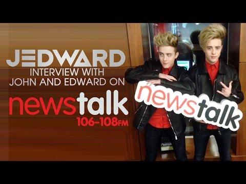 Interview With Jedward on NewsTalk FM