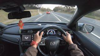2019 Honda Civic Hatchback | POV TEST DRIVE