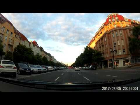Driving Berlin (Germany) - Brno (Czech Republic) 568km