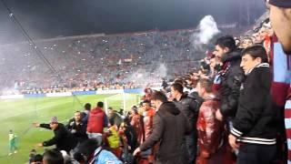 Olaylı Trabzonspor -Fenerbahçe Maçı -Direkler