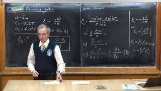 Урок 284. Задачи на электромагнитную индукцию - 1