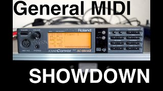 General MIDI Showdown