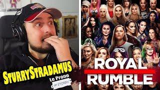 [SturryStradamus] Le Prono du WWE Royal Rumble 2019