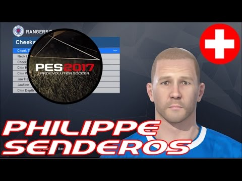 Philippe Senderos - PES 2017 Face Build - PS4 - Plus RANT!!!