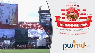 Indonesia Raya - Milad Muhammadiyah 104 di Bangkalan