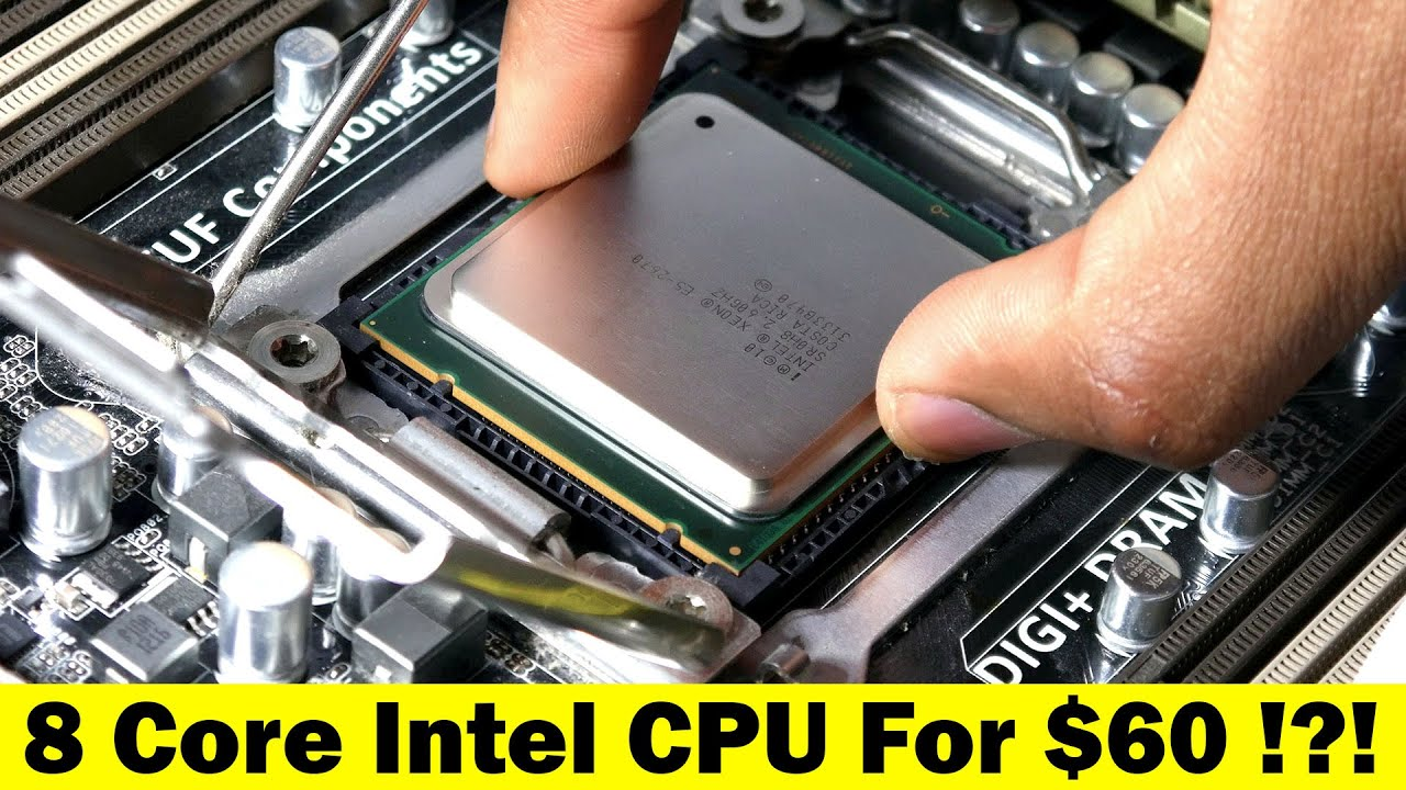 8 Core Intel CPU For Under $60!