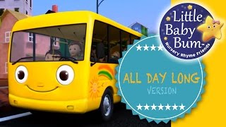 "Wheels On The Bus | Part 1 | ""All Day Long"" version from LittleBabyBum"