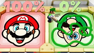 Super Mario Party MiniGames - Mario Vs Luigi Vs Bowser Jr. Vs Diddy Kong (Master Cpu)