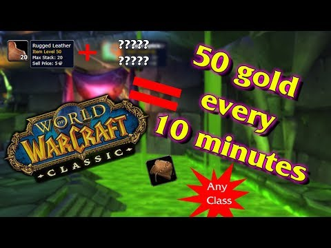 Wow Classic Gold Guide: 40g+/10 Minutes Leatherworking Flip