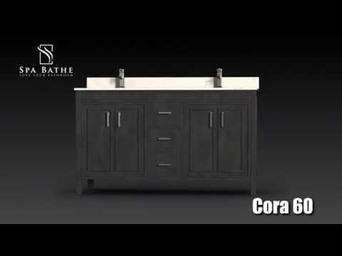 Spa Bathe Cora 60 Espresso Bath Vanity