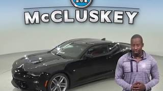183574 - New, 2018, Chevrolet Camaro, SS, Coupe, Black Test Drive, Review, For Sale -