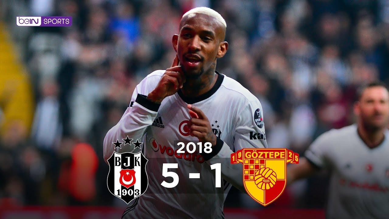 Beşiktaş 5 - 1 Göztepe  - Maç Özeti