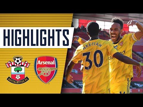 Southampton Arsenal Goals And Highlights