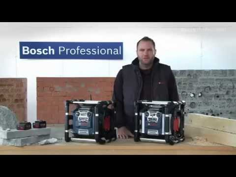 radio de chantier gml 20 et 50 bosch youtube. Black Bedroom Furniture Sets. Home Design Ideas