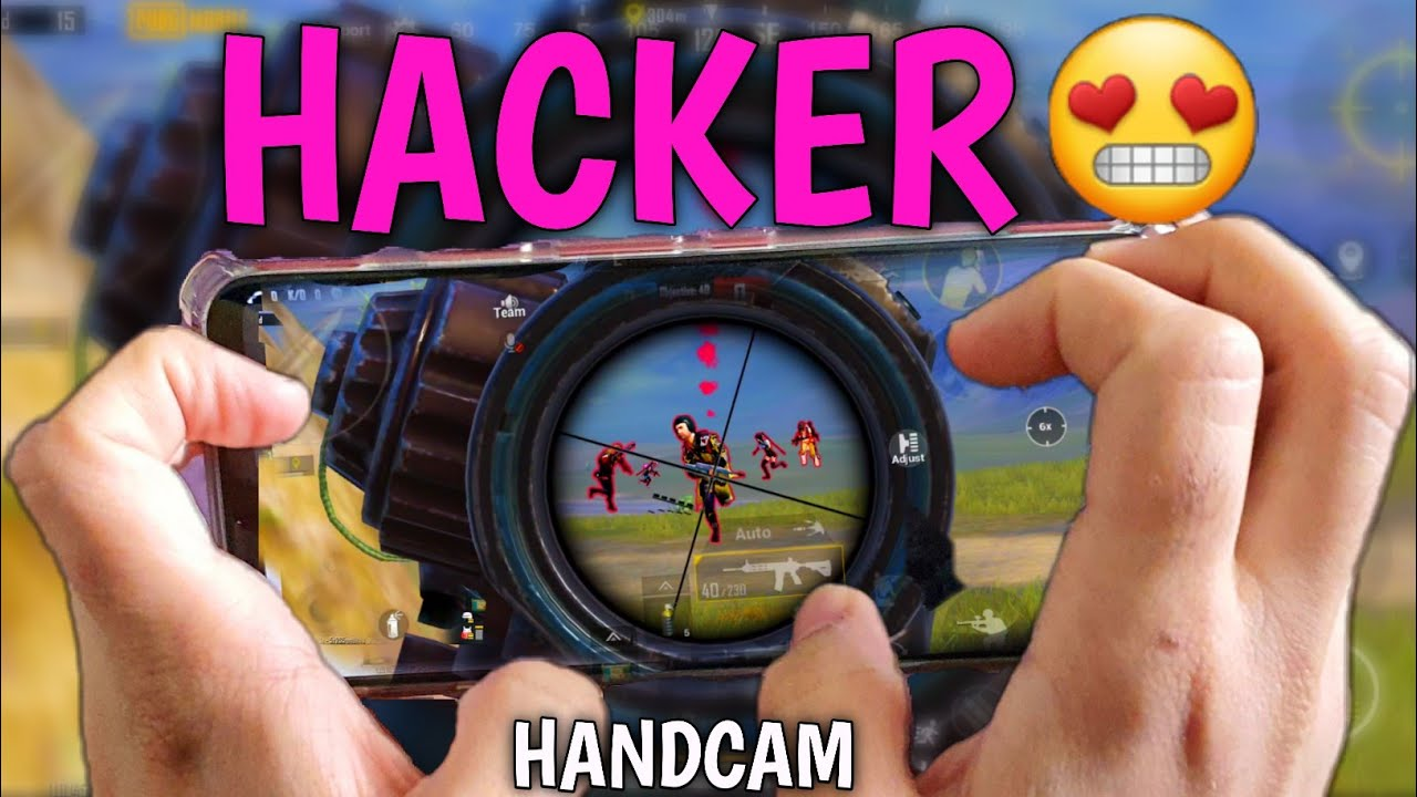 HACKER Without Hacks? HANDCAM Red Magic 5S Pubg Mobile | 5 Fingers + GYRO | #3