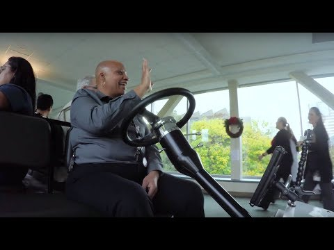 MD Anderson shuttle driver spreads happiness everyday