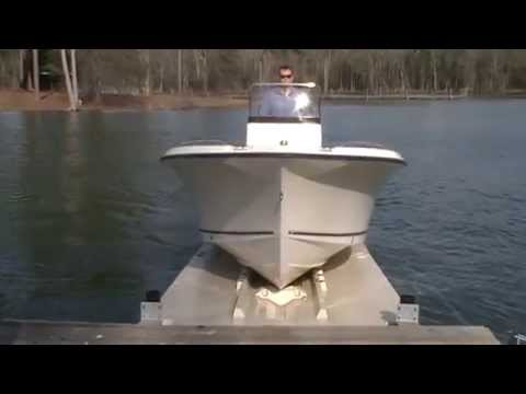Drive On Boat Dock Float Www Carolinafloats Com Youtube