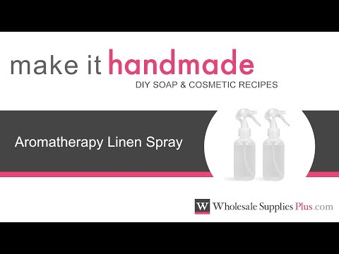 How to Make Aromatherapy Linen Spray {Make It Handmade}