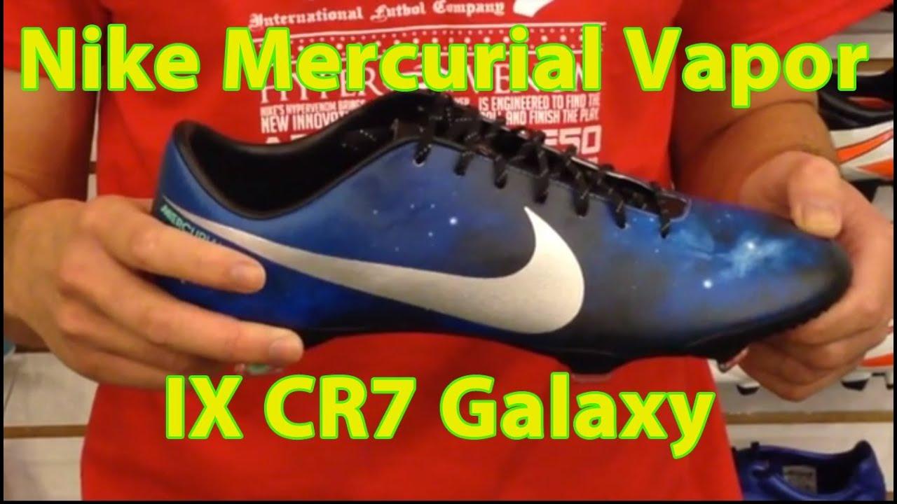 ffe30a242f6 Nike Mercurial Vapor IX CR7 Galaxy Soccer Shoe Review - YouTube