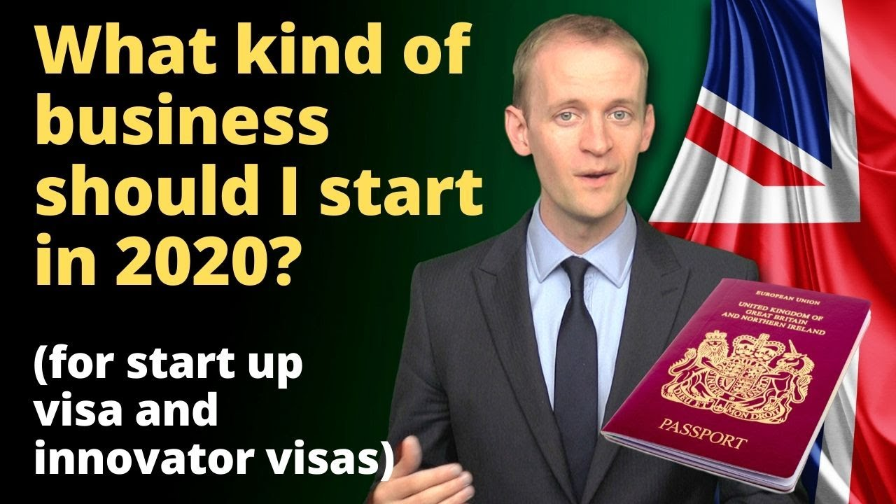 Innovator visas: what kind of business should I start in the UK (in 2020) ✅