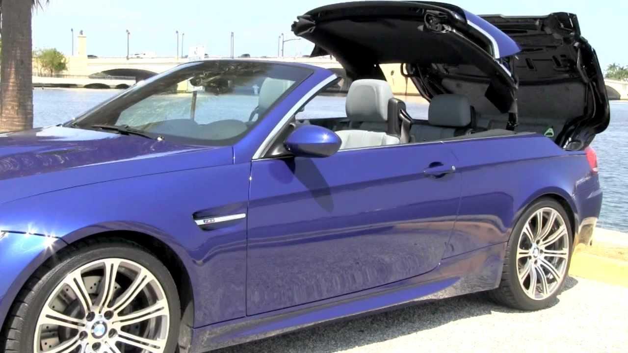 Bmw M3 Convertible Interlagos Blue Metallic A2803 Youtube
