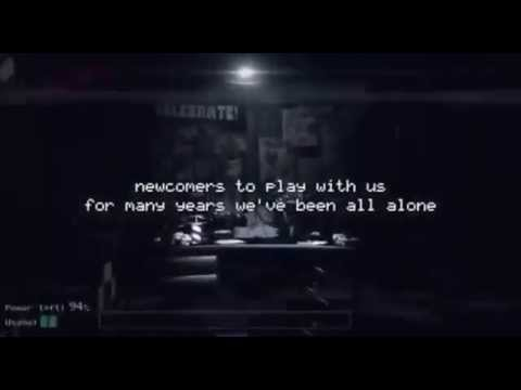 KARAOKE | The Living Tombstone - FIVE NIGHTS AT FREDDY'S SONG