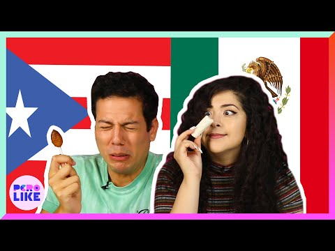 Puerto Ricans & Mexicans Swap Snacks