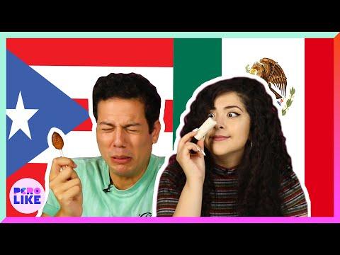 Puerto Ricans & Mexicans Swap Snacks