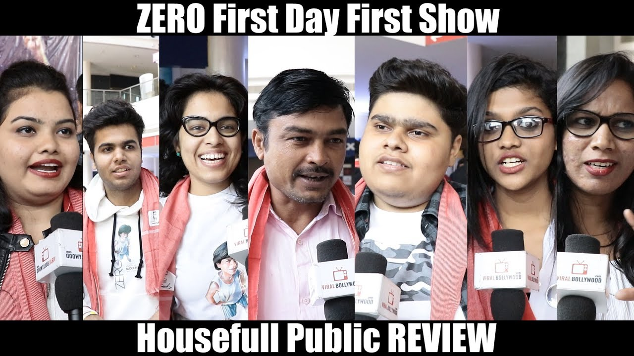 3547 Mb Zero Movie First Day First Show Public Review Srk