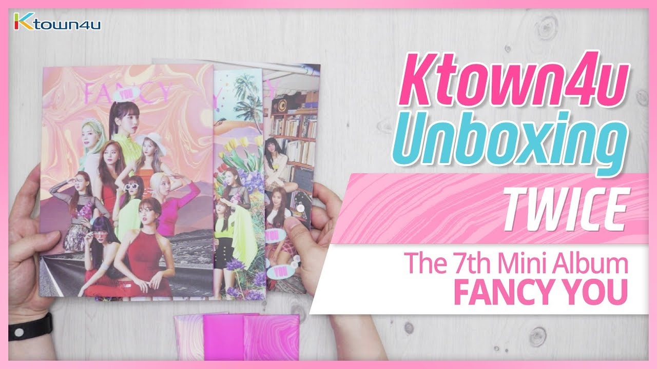 KPOP Ktown4u com : TWICE - Mini Album Vol 7 [FANCY YOU] (Random Ver )