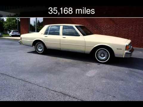1984 Chevrolet Caprice Classic Used Cars   Loganville,Georgia   2014 05 31