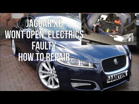 Jaguar XF Wont open, Or Start, also Random Electrical Faults