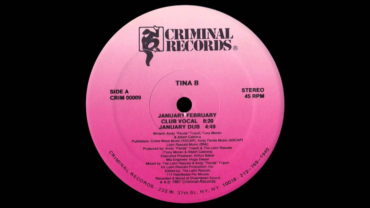Download Tina B – January February (Club Vocal)