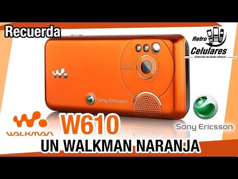Recuerdas Sony Ericsson W610 Colección Celulares Clásicos, Antiguos, Viejos RETRO CELULARES