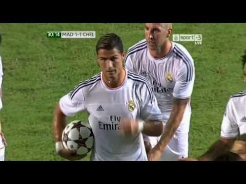 Cristiano Ronaldo non-knuckleball free kick goal from 2013