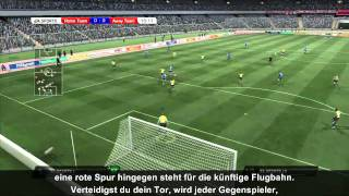 FIFA 11 Tutorial Be A Goalkeeper