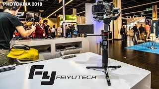 FeiyuTech AK4000/AK2000 3-axis Gimbal | FIRST LOOK at PHOTOKINA 2018