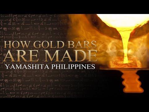 Yamashita Philippines - How Gold Bars Are Made
