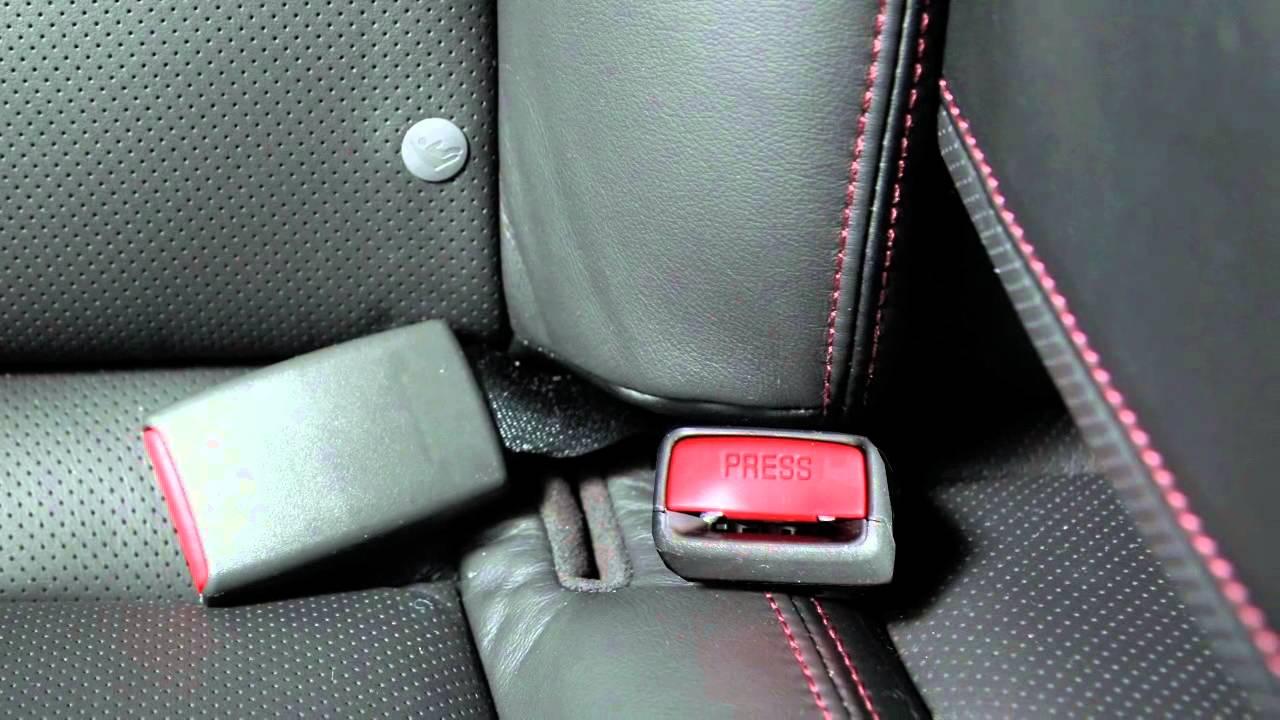 Nissan Maxima: Latch lower anchor