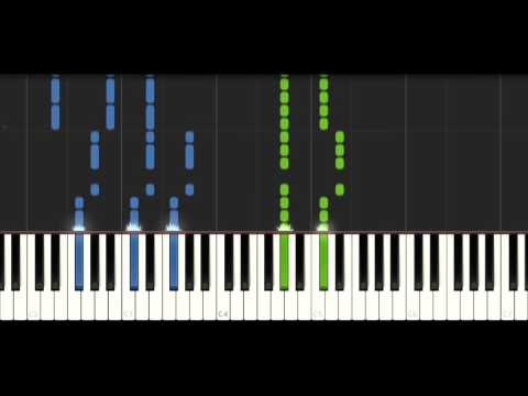 TheFatRat - Never Be Alone - PIANO TUTORIAL