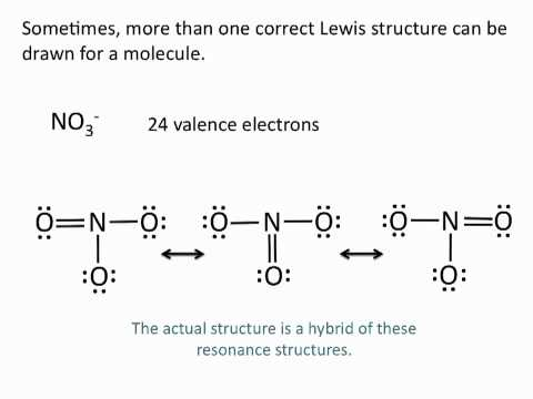 Drawing Lewis Structures: Resonance Structures - Chemistry Tutorial