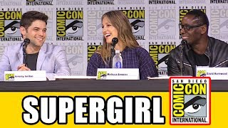 SUPERGIRL Comic Con 2017 Panel Part 2 - Season 3 & Highlights