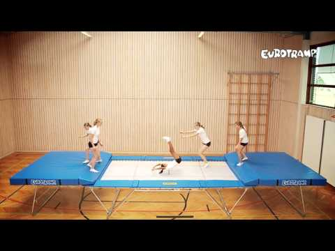 "Video: Eurotramp® Trampolin ""Grand Master School"""