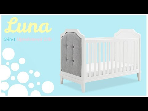 Luna 3-in-1 Upholstered Crib - Assembly Instructions