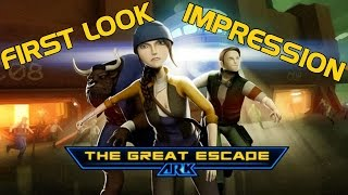 AR-K The Great Escape (PC) Gameplay Review First Impression 1080p60fps
