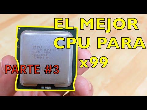 LOS MEJORES PROCESADORES X99 - Que procesador comprar PARA LGA 2011-V3 - Motherboard x99