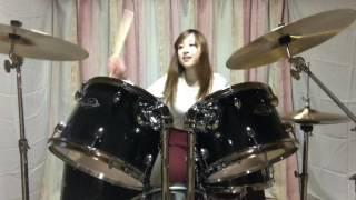 【耳コピ】X JAPANさんのRUSTY NAIL大好きだから叩いてみた RINA channel